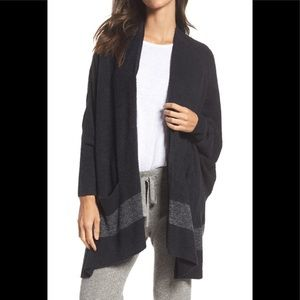 Barefoot Dreams Cliffside circle wrap cardigan